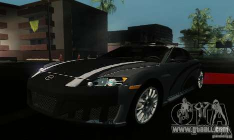 Mazda RX-8 Tuneable for GTA San Andreas back view