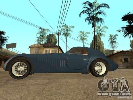 Alfa Romeo 2900B LeMans Speciale 1938 for GTA San Andreas left view