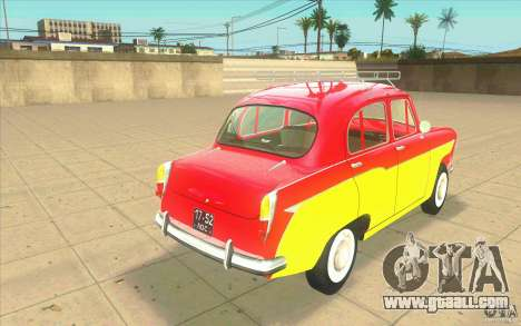 Moskvich 407 for GTA San Andreas back left view