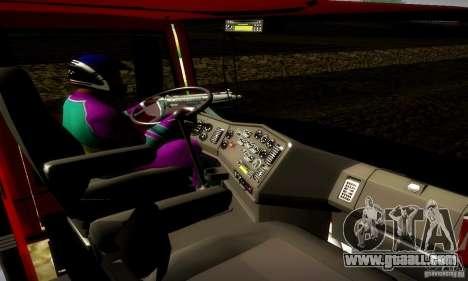 Mercedes-Benz L1620 Tanque for GTA San Andreas right view