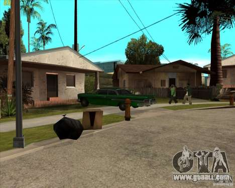Car in Grove Street for GTA San Andreas second screenshot