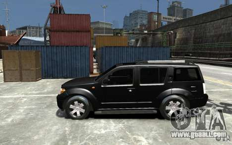 Nissan Pathfinder 2006 for GTA 4 left view