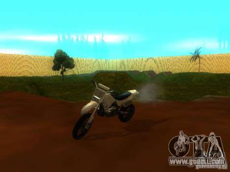 Moto Track Race for GTA San Andreas
