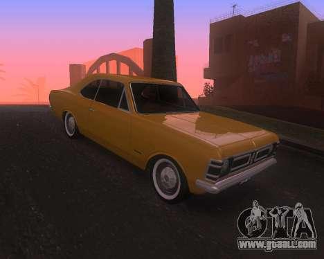 Chevrolet Opala Gran Luxo for GTA San Andreas