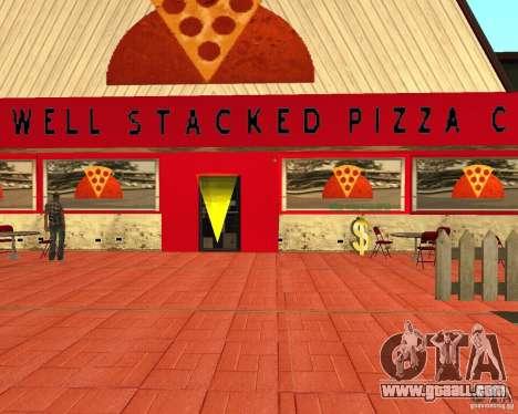 Buying pizza for GTA San Andreas forth screenshot
