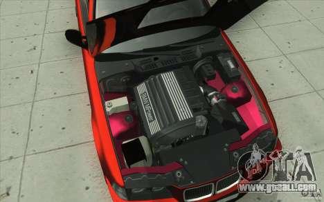 BMW Fan Drift Bolidas for GTA San Andreas bottom view