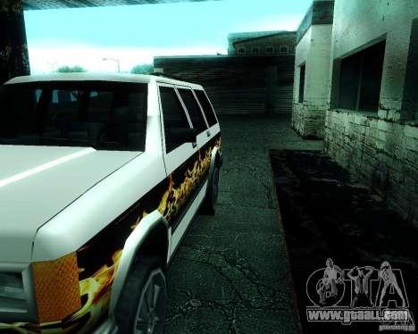 Landstalker for GTA San Andreas side view