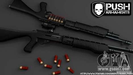 SPAS-12 Tactical for GTA 4