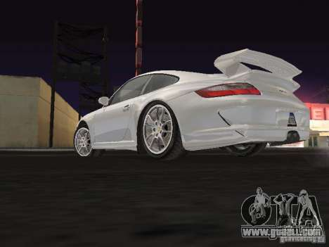 Porsche 911 GT3 for GTA San Andreas back view