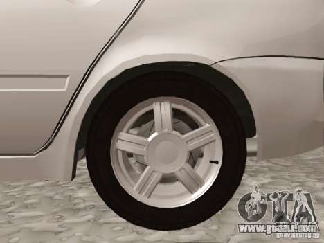 LADA Kalina sedan for GTA San Andreas right view