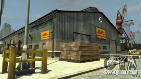 DHL-Port for GTA 4 third screenshot