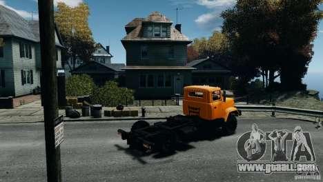 KrAZ-5133 for GTA 4 left view