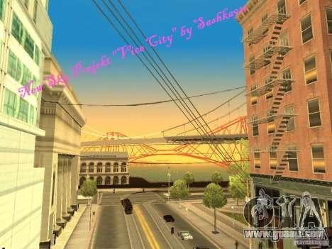 New Sky Vice City for GTA San Andreas