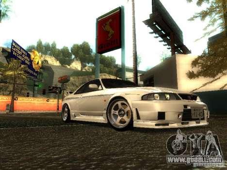 Nissan Skyline Nismo 400R for GTA San Andreas