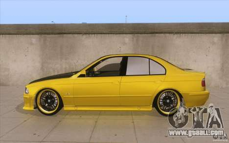 BMW M5 E39 - FnF4 for GTA San Andreas left view