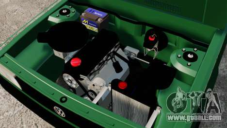 Volkswagen Gol GL 1992 Edit for GTA 4 inner view