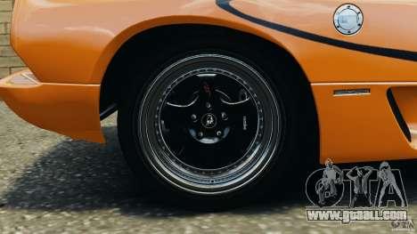 Lamborghini Diablo SV 1997 v4.0 [EPM] for GTA 4 upper view