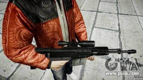 Accuracy International AS50 for GTA 4 sixth screenshot