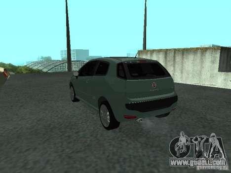 Fiat Punto EVO SPORT 2010 for GTA San Andreas left view