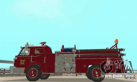 American LaFrance Pumper 1960 for GTA San Andreas
