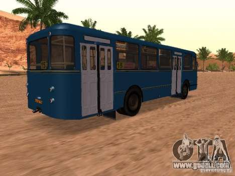 LIAZ 677 for GTA San Andreas wheels