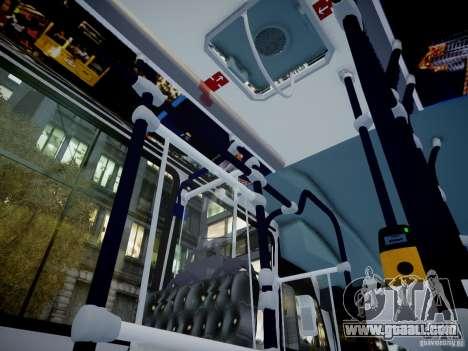 Scania K230 MTA New York City Bus for GTA 4 back view