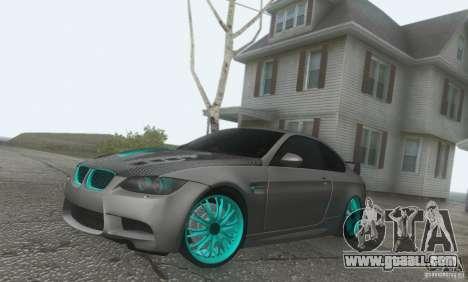 BMW M3 E92 Hellaflush v1.0 for GTA San Andreas right view