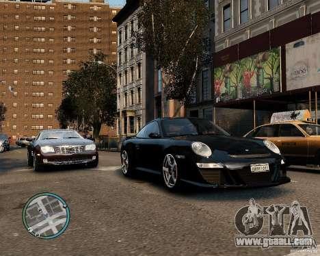 Ruf Rt 12 for GTA 4 back left view