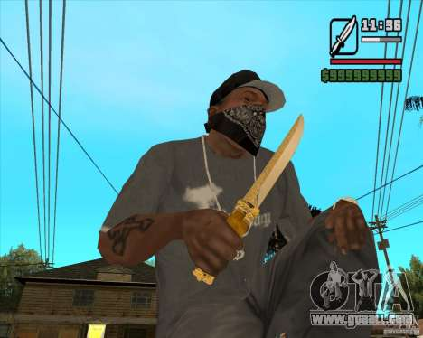 Prince's Knife for GTA San Andreas