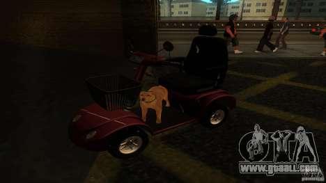 Elektroscooter - Speedy for GTA San Andreas