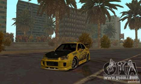 NFS Most Wanted - Paradise for GTA San Andreas fifth screenshot