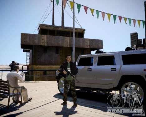 CoD Black Ops Hudson for GTA 4 forth screenshot