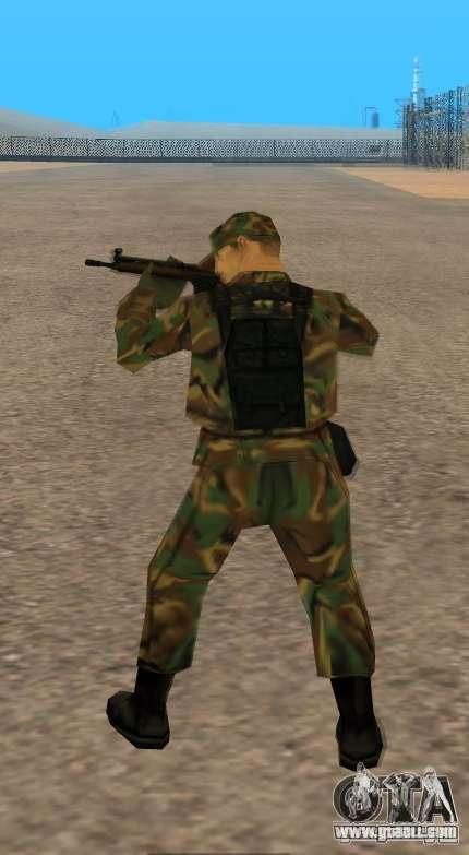 G3A3 Assault Rifle for GTA San Andreas fifth screenshot