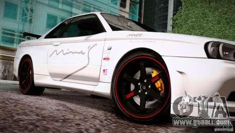 FM3 Wheels Pack for GTA San Andreas third screenshot