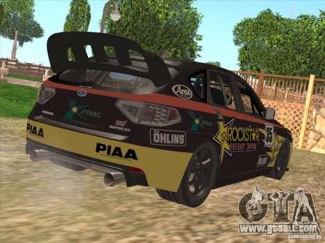 Subaru Impreza WRX STI N14 Gymkhana for GTA San Andreas