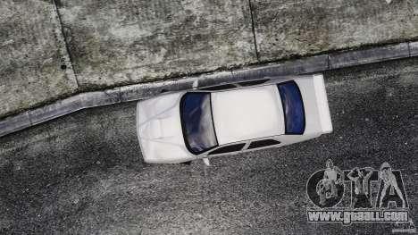 Alfa Romeo 155 Q4 for GTA 4 right view