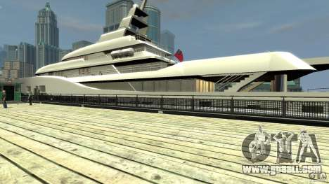 Yacht v1 for GTA 4 right view