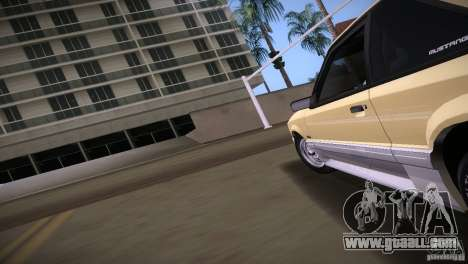 Ford Mustang GT 1993 for GTA Vice City back left view