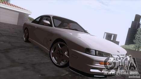Nissan Silvia S14 Kouki for GTA San Andreas inner view