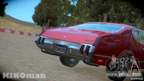 Oldsmobile 442 for GTA 4 right view