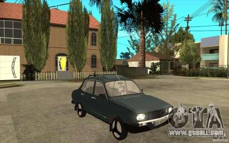 Dacia 1300 Cocalaro Tzaraneasca for GTA San Andreas back view