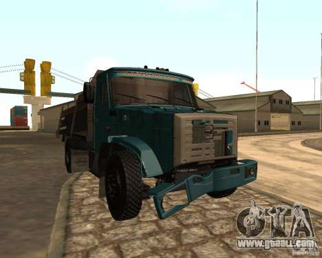 433362 ZIL for GTA San Andreas upper view