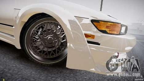 Nissan Sileighty for GTA 4 inner view