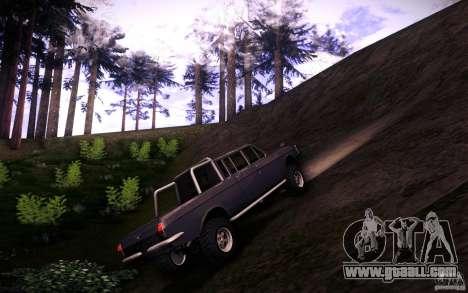 GAZ 2402 4 x 4 PickUp for GTA San Andreas inner view