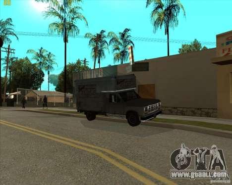 Car in Grove Street for GTA San Andreas seventh screenshot