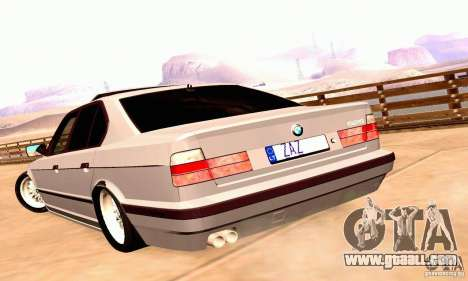 BMW E34 525i for GTA San Andreas right view