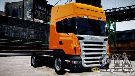 Scania R500 for GTA 4 inner view