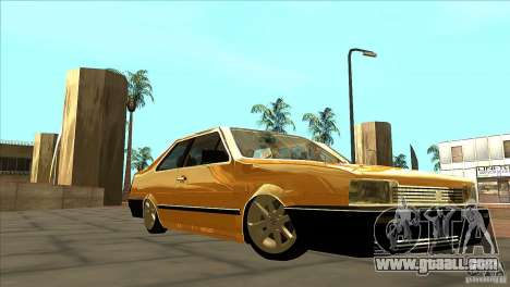 Volkswagen Santana GLS for GTA San Andreas back view