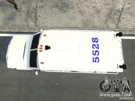 Lenco Bearcat NYPD ESU V.2 for GTA 4 back view