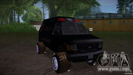 Ford E-450 Off Road for GTA San Andreas right view